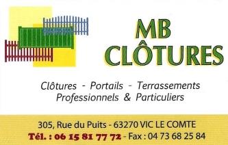 MB Clôtures